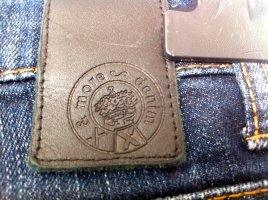 Brax Jeansy z prostymi nogawkami ciemnoniebieski Bawełna