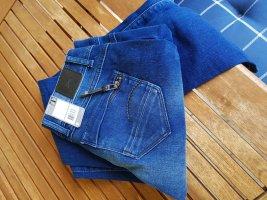 G-Star Jeans cigarette bleu foncé