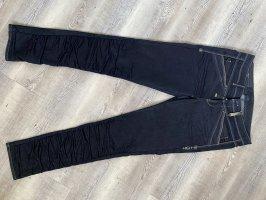 High Jeans slim fit blu scuro