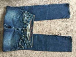 Tommy Hilfiger Jeans met rechte pijpen donkerblauw Katoen
