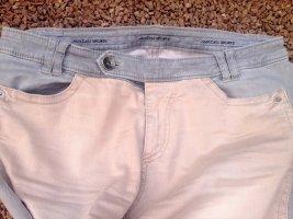 Marc Cain Jeans met rechte pijpen licht beige-grijs Katoen