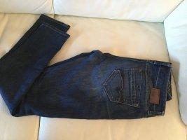 Mavi Jeans Co. Low Rise Jeans dark blue cotton
