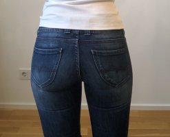 Pepe Jeans Jeansy z prostymi nogawkami stalowy niebieski