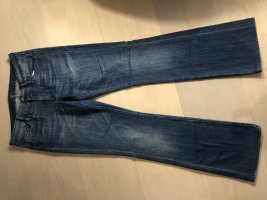 7 For All Mankind Jeans stretch bleu coton