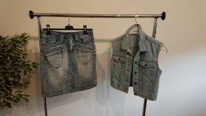 Jeans-Weste, Gr. 36