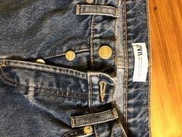 Zara Straight Leg Jeans pale blue