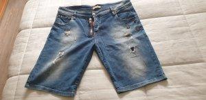 Dsquared2 Short en jean multicolore