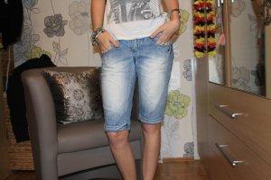 Colours of the World Pantaloncino di jeans azzurro