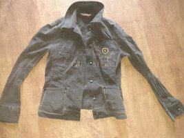 Ascari Denim Jacket olive green-khaki