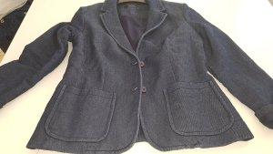 Hallhuber trend Blazer in jeans blu scuro