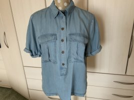 H&M Conscious Collection Blusa denim blu fiordaliso