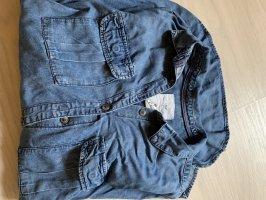 H&M L.O.G.G. Blouse en jean bleu