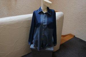 #Jeansbluse, Gr. 36, #dunkelblau-stone, #Cinque, #Designermode, #hochwertig