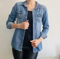 C&A Camicia denim blu fiordaliso