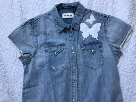 Replay Denim Shirt light blue