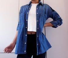 Zara Lace Blouse black-blue