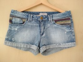 Springfield Pantaloncino di jeans blu