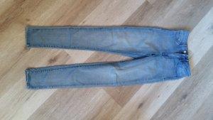 H&M Divided Hoge taille jeans lichtblauw-azuur