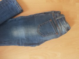keine Low-Rise Trousers blue