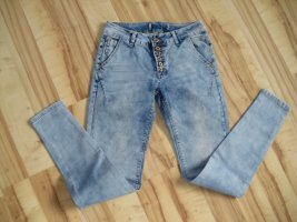 Rock angel Jeans cigarette bleu