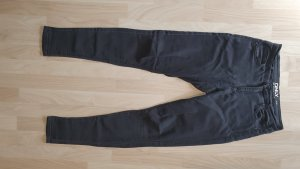 Only Stretch jeans donkergrijs-antraciet