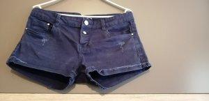 Terranova Shorts azul oscuro