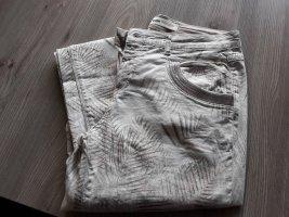 Mos Mosh Pantalon cigarette beige clair coton