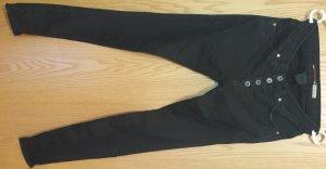 PLEASE Denim Pantaloncino di jeans nero
