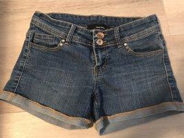 Jeanshose Shorts kurz blau Tally weijl Gr 34