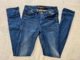 BlendShe Jeans skinny azzurro-blu acciaio