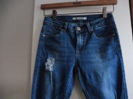 Toxik3 Jeans blue-dark blue cotton