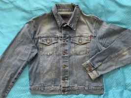 Jeansjacke graublau bleached