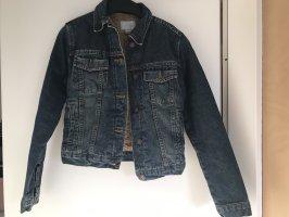 Jeansjacke mit Fütterung von Zara