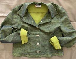 Jeansjacke mit Seideneffekt