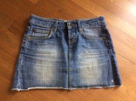 Anastacia by s.Oliver Denim Skirt slate-gray-steel blue