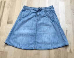 QS by s.Oliver Gonna di jeans blu fiordaliso