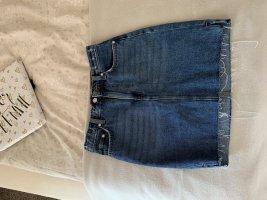 H&M Gonna di jeans blu acciaio