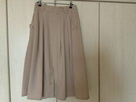 Walbusch Denim Skirt pale yellow