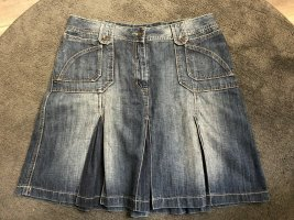 Cecil Gonna di jeans blu fiordaliso Tessuto misto