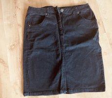 Angel of Style Jupe en jeans noir