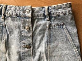 All Saints Gonna di jeans azzurro Cotone