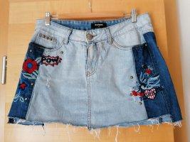 Desigual Denim Skirt blue