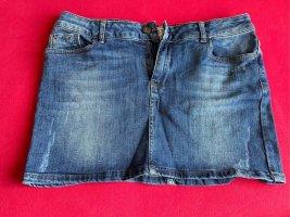 Peckott Denim Skirt blue