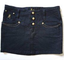 Marciano Jupe en jeans noir-doré