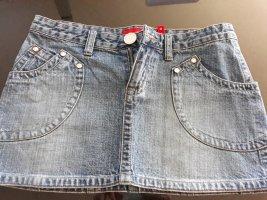 Fishbone Gonna di jeans blu