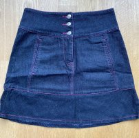 Apart Denim Skirt blue-pink