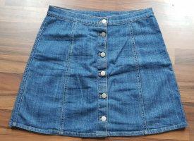 Jeansrock mit Knöpfen