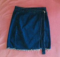 Glamorous Spijkerrok donkerblauw Katoen