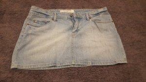 H&M Denim Skirt azure cotton