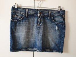 Meltin Pot Denim Skirt blue
